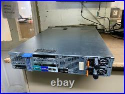 Dell PowerEdge R520 Xeon E5-2430 2.5GHz 64GB DDR3 x2 495W PSU SERVER RACK 1H212