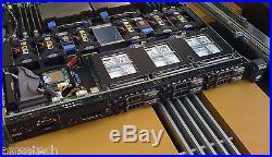 Dell PowerEdge R610 DUAL XEON X5650 2.66Ghz 12-CORES 48GB Perc H700 512 PSU 717W