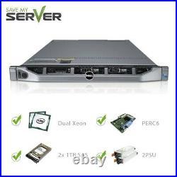 Dell PowerEdge R610 Server 2x E5540 2.53GHz 8 Core 48GB 2x 1TB SAS