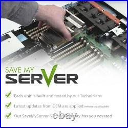 Dell PowerEdge R610 Server 2x E5645 12 Cores 96GB PERC6i 2x 300GB SAS