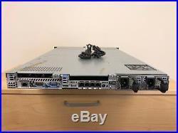Dell PowerEdge R610 Server 2x X5660 Six Core 12GB RAM H200 2 Trays No HDD