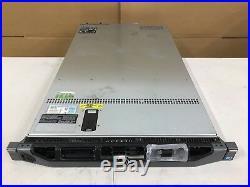 Dell PowerEdge R610 Server 2x Xeon E5630 @2.53Ghz 32GB PERC H700 2x 146GB Rails