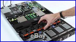 Dell PowerEdge R620 2x Xeon E5-2650v2 2.60GHz 16-CORE 96GB DDR3 H710 240GB SSD