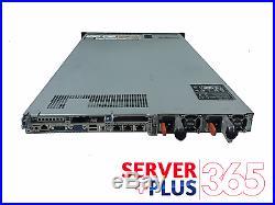 Dell PowerEdge R620 4 Bay Server 2x E5-2680V2 2.8 GHz 10 Core 128GB RAM 4x Trays