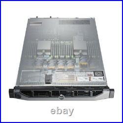 Dell PowerEdge R620 Server 2x 2630V2 2.6Ghz = 12 Core 64GB 4x 900GB SAS