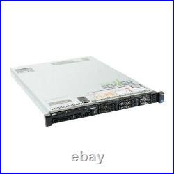 Dell PowerEdge R620 Server 2x E5-2620 12 Cores 128GB H710 2x 600GB SAS