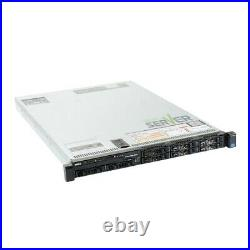 Dell PowerEdge R620 Server 2x E5-2640 6 Core 128GB H310 4x Trays