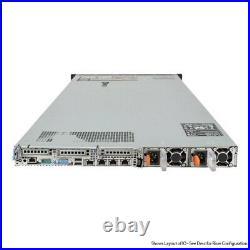 Dell PowerEdge R620 Server 2x E5-2670 2.6GHz 16 Cores H710 64GB 2x Trays