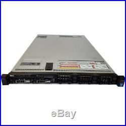 Dell PowerEdge R630 1U Server 2x E5-2603 v3 1.6Ghz 6 Core 32GB 2x 1TB Perc H330
