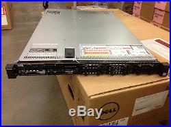 Dell PowerEdge R630 1U Server E5-2640V3 2x 128GB SSD 16GB H730 PERC 2X PSU