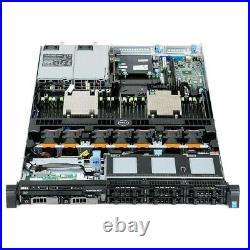 Dell PowerEdge R630 Server / 2x E5-2620v3 = 12 Cores / 64GB RAM / 2x 250GB SSD