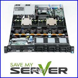 Dell PowerEdge R630 Server / 2x E5-2630 V3 =16 Cores / 32GB / H330 / 2x 300GB HD