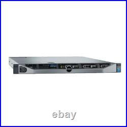 Dell PowerEdge R630 Server 2x E5-2640v3 2.6GHz 8C 32GB H330 4 Trays