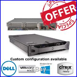Dell PowerEdge R710 2 x X5675 3.06GHz Six Core 48GB RAM 4 x 500GB SAS HDD H700