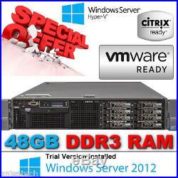 Dell PowerEdge R710 2x QuadCore XEON E5620 2.26GHz 48GB DDR3 300GB 2.5 10K HDD