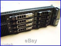 Dell PowerEdge R710 2x Six Core XEON E5645 2.40GHz 96GB DDR3 H700 512MB idrac6