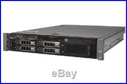 Dell PowerEdge R710 2x SixCore XEON X5675 3.06GHz 64GB DDR3 4x300GB 15K SAS H700