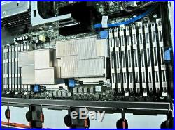 Dell PowerEdge R710 2x X5680 3.33GHz 12-CORE 128GB RAM Perc6i RAID 4x 147GB 15K