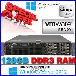 Dell PowerEdge R710 2xSixCore XEON X5670 2.93GHz 128GB 300GB 2.5 10K Enterprise