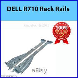 Dell PowerEdge R710 Rack Rail Kit P187C 0P187C 2U Server Rackmount Rails
