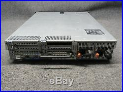 Dell PowerEdge R710 Server, 2x Xeon E5620@2.40GHz 16GB DDR3 ECC RAM No HDD