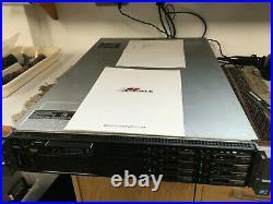 Dell PowerEdge R710 Server Dual XEON X5650 2.66Ghz 32GB RAM 2x300GB 2.5SFF H200