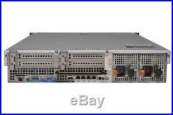 Dell PowerEdge R710 Server Dual Xeon L5520 2.26GHz 8GB 4x 146GB SAS 2x 870W PSU