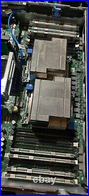 Dell PowerEdge R710 VMware, 10GB HBA, 64GB RAM, 2x X5570, 2xHD, 6 Trays & MORE