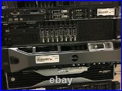 Dell PowerEdge R720 2.5 Server, 2x 2.0GHz 6 Core E5-2620,128GB, 4x 600G, H710