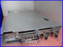 Dell PowerEdge R720 2U 2x Xeon E5-2690 2.9GHz 16GB H710P Mini 2x 8GB 0W62DW+