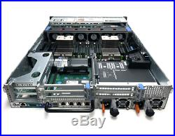 Dell PowerEdge R720 2U Server 2x E5-2665V2 128GB (8x 16GB) 2x 500GB Drive H710