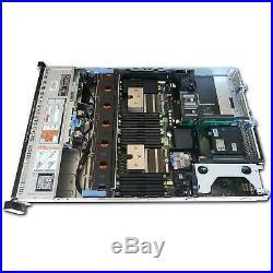Dell PowerEdge R720 2U Server x2 Xeon E5-2630 2.30GHz 16GB RAM NO HDD