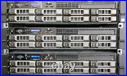 Dell PowerEdge R720 2x E5-2670 + 32GB 384GB RAM + 8X 3,5 Hot-Swap, 2x PSU