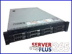 Dell PowerEdge R720 3.5 Server, 2x 2.7GHz 8Core E5-2680, 64GB, 8x Tray, H710