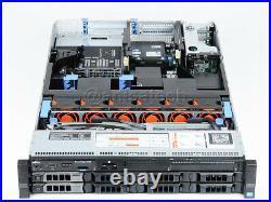 Dell PowerEdge R720 DUAL Xeon E5-2650 v2 2.60GHz 48GB DDR3 H710 NO DISKS CADDIES