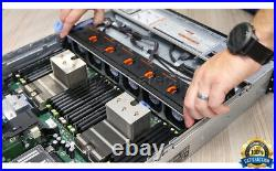 Dell PowerEdge R720 DUAL Xeon E5-2650v2 2.60GHz 48GB DDR3 H710 -NO DISKS CADDIES