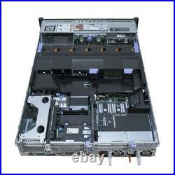 Dell PowerEdge R720 Server 2x E5-2609 V2 2.5GHz = 8 Cores H310 16GB RAM