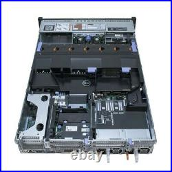 Dell PowerEdge R720 Server / 2x E5-2680 2.7GHz = 16 Cores / 64GB RAM / 8x Trays