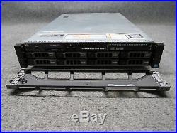Dell PowerEdge R720 Server 2x Xeon E5-2643 3.30GHz 128GB ECC RAM 6x 600GB HDD