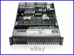 Dell PowerEdge R720 Xeon E5-2680 2.70GHz 16-CORE 128GB DDR3 8x600G 4.8TB SAS 10K