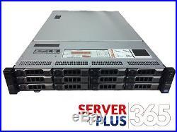 Dell PowerEdge R720XD Server, 2x E5-2660V2 2.2GHz 10Core, 128GB, 12x Trays, H710