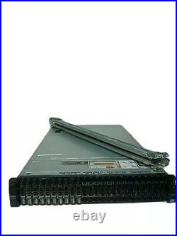 Dell PowerEdge R720XD Virtualization Server 16-Core 256GB 12x300GB H710P Rails