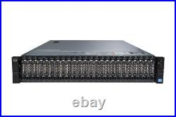 Dell PowerEdge R720xd 2x 8C E5-2670 2.6Ghz 64GB RAM 24x 2.5 HDD Bay 2U Server