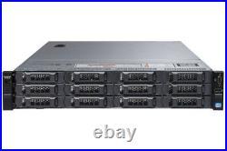 Dell PowerEdge R720xd 2x Eight-Core E5-2650v2 128GB RAM 2x 200GB SATA SSD Server