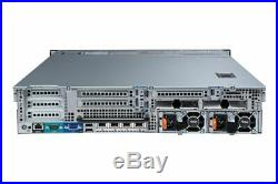 Dell PowerEdge R720xd 2x Quad-Core E5-2609 32GB RAM 2x 146GB HDD H710 2U Server