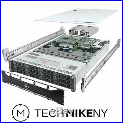Dell PowerEdge R720xd Server 2x 2.60Ghz E5-2670 8C 96GB 12x 3TB SAS Enterprise