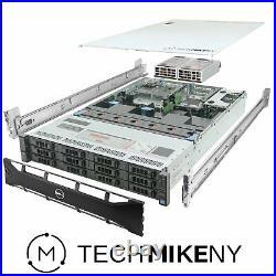 Dell PowerEdge R720xd Server 2x E5-2670 2.60Ghz 16-Core 96GB 12x 3TB H710 Rails