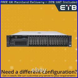 Dell PowerEdge R730 1x16 2.5 SAS, 2 x E5-2620v3 2.4GHz Six-Core, 32GB, PERC