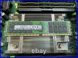 Dell PowerEdge R730 2x Intel Xeon E5-2680 v4 @2.4GHz 64GB No HDD 2x PSU Rails