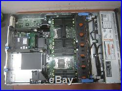 Dell PowerEdge R730 Server, 1x PSU, No CPU, No RAM, No Heat Sink, AS-IS See